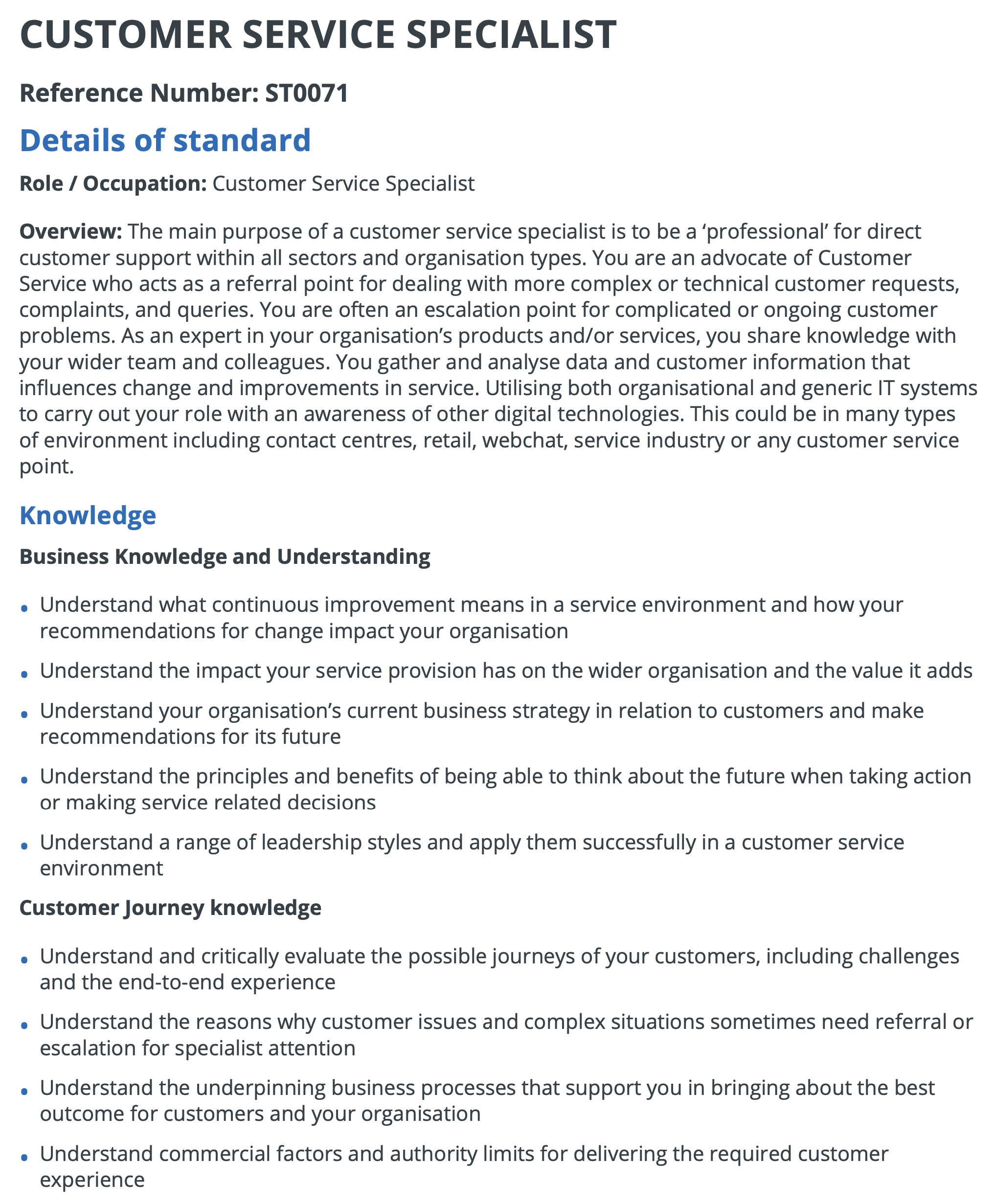 Customer Services Specialist Level 3.pdf