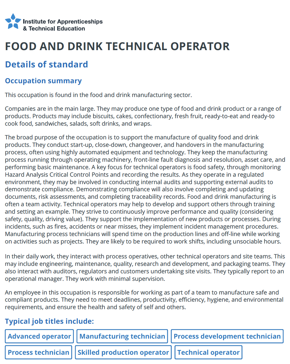 Food and Drink Tecnical Operator Standard.pdf