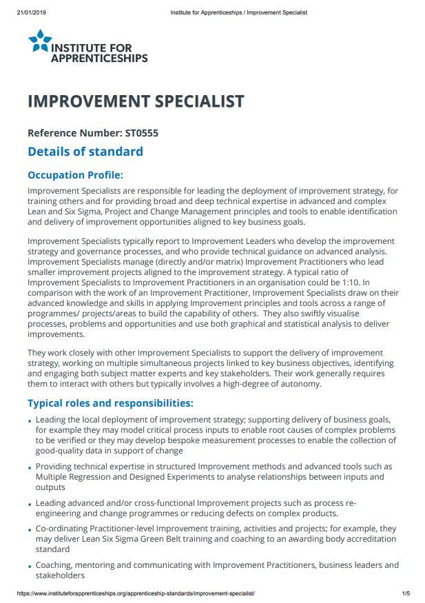 ImprovementSpecialistStandard.pdf