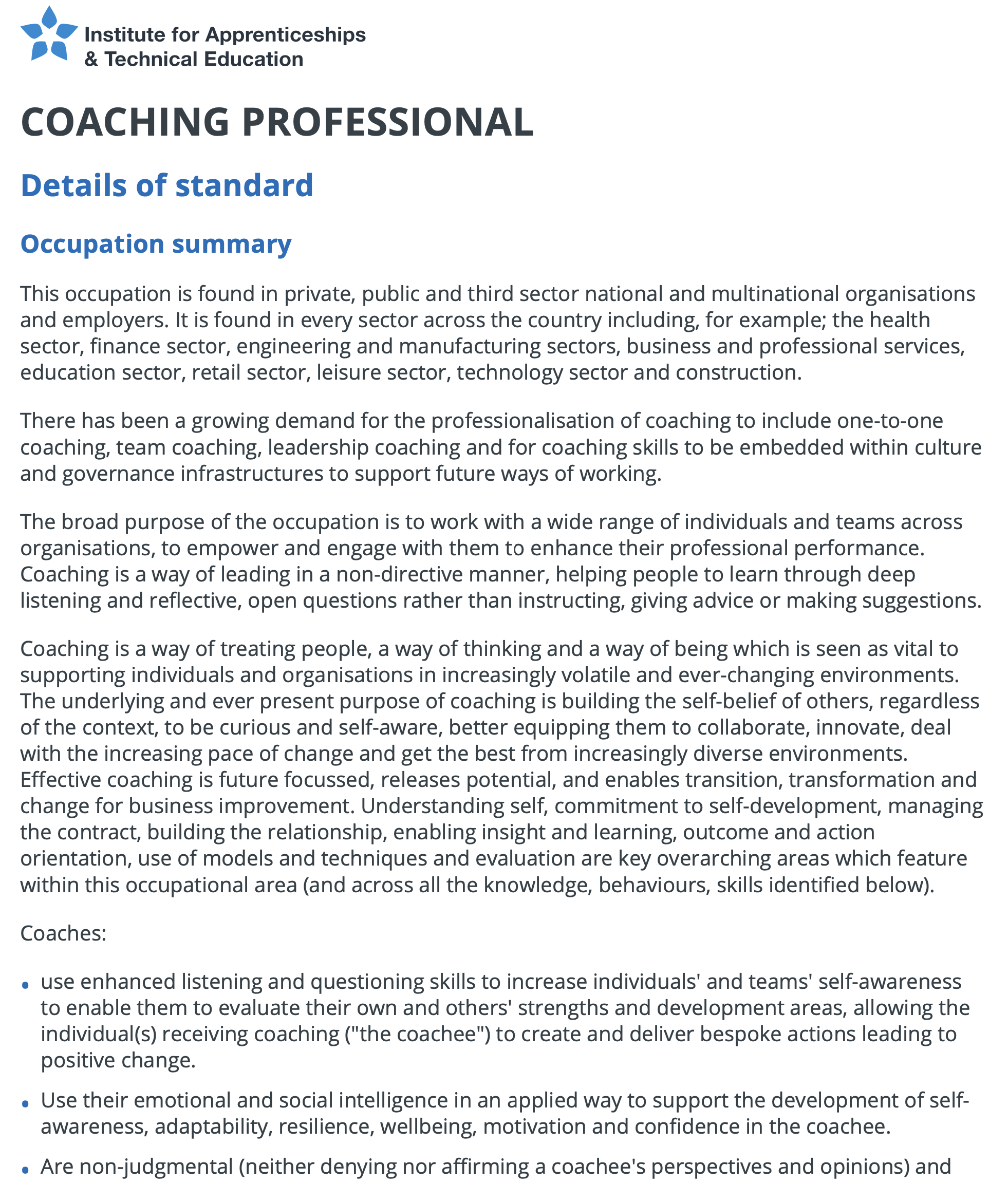 Coaching professional  Institute for Apprenticeships and Technical Education.pdf