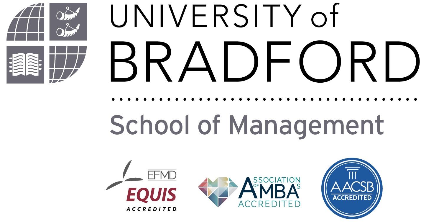 University of Bradford School of Management logo